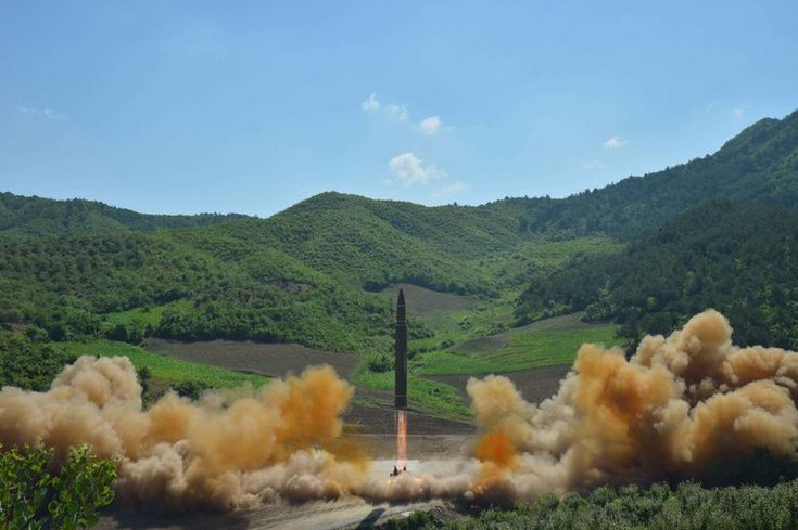 U.S. Confirms North Korea Fired Intercontinental Ballistic Missile - The New York Times