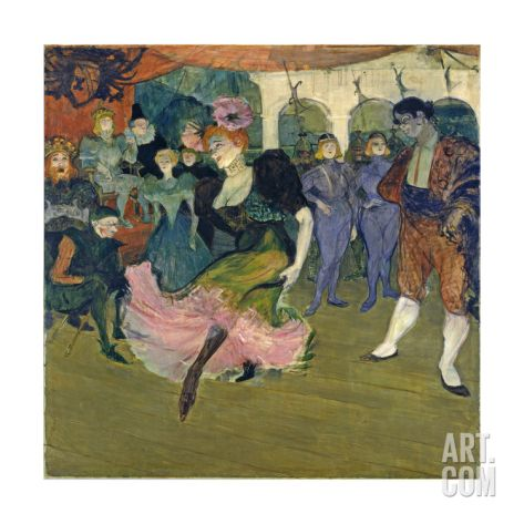 Marcelle Lender Dancing the Bolero in 'Chilperic', 1895 Giclee Print by Henri de Toulouse-Lautrec at Art.com