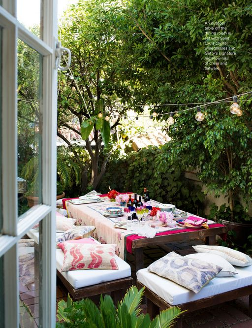 Cute backyard!