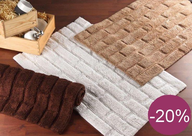 Les tapis de salle de bain Planetebain sont tendances et ultra résistants. Profitez de 20% de remise sur ces produits.