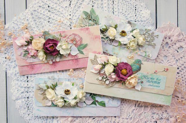 ТМ Mr.Painter: Вдохновение от дизайнеров: конверты для денежных подарков от Екатерины Батуриной