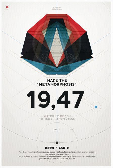 Geometry of space by Metric72     Cool Geometric Artworks