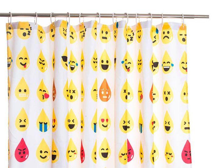 #cortinas para #ducha #emojis https://www.catayhome.es/categoria/cortinas-de-bano/