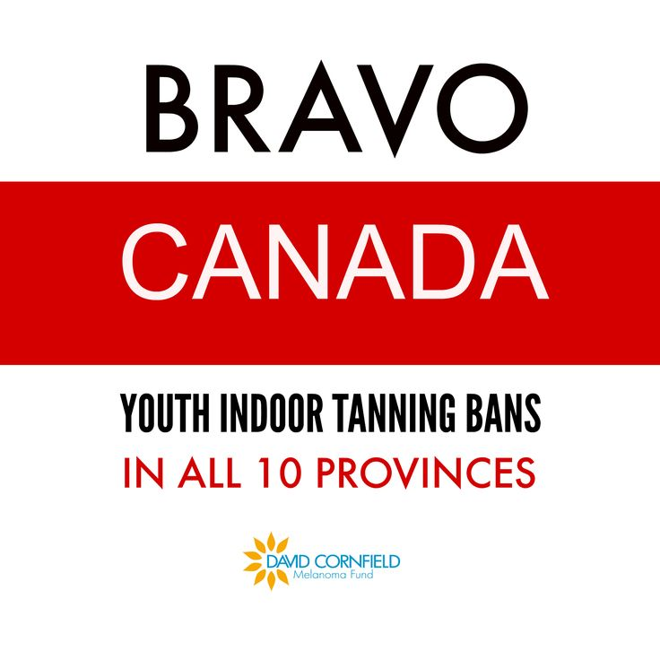 November 1, 2015 was a momentous day for Canada's Youth. As of November 1, 2015, Canada's 10 provinces have regulations banning youth from indoor tanning. Read our latest blog to learn more: http://dcmf.ca/1987