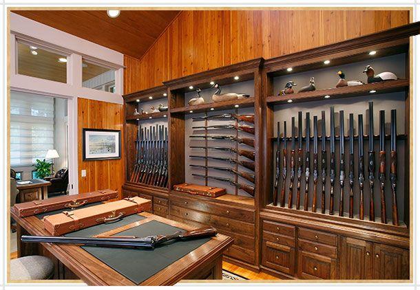 25 best ideas about gun decor on pinterest gun shell for Gun room design