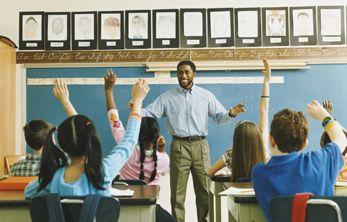 Visit schools and inform teachers about the signs and effects of hearing loss!