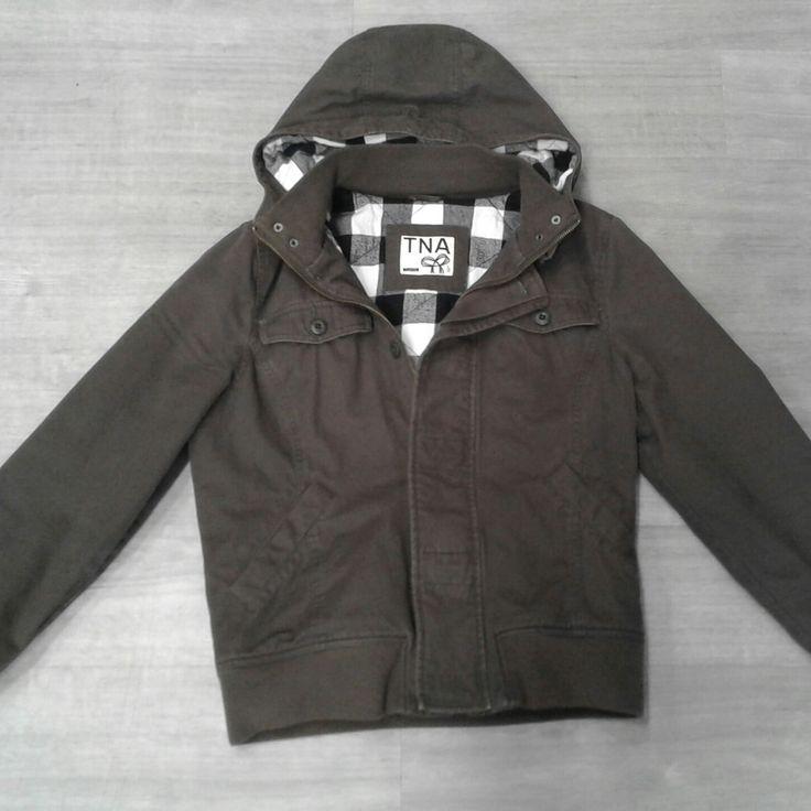 When you wake up every morning & it's freezing outside...you need a slammin' coat. #basicneeds #PlatosClosetCambridge #gentlyused #legit #coldwinterdays // #TNA coat, Size XL, $70 // | www.platosclosetcambridge.com