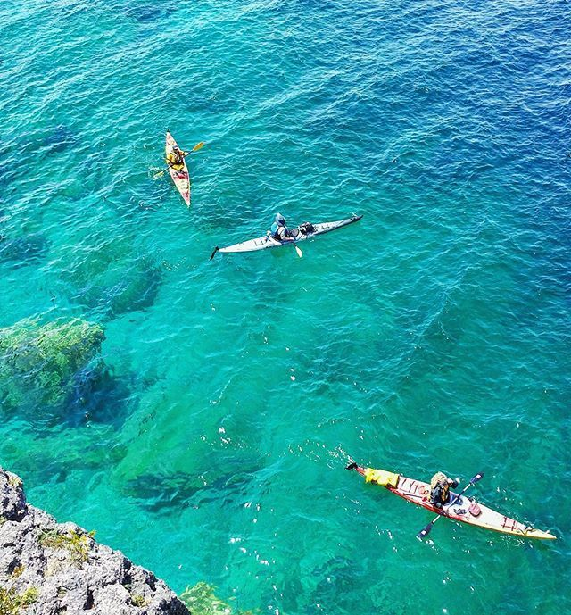 Tobemory Grotto, check it out if you get the chance, gorgeous spot to hike, swim or climb. #tobemory #kayak #summer #hiking