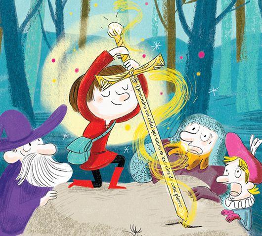 La Naissance d'un Roi | Jess Pauwels Illustrations