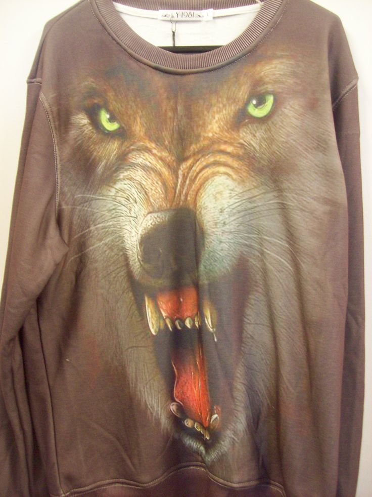 Wolf windcheater available in small, medium, large and extra-large  $34.95 at www.scotttshirts.com.au