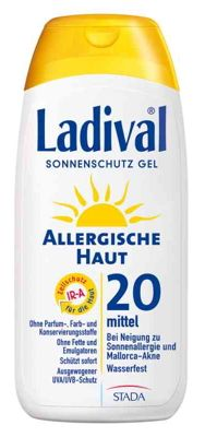 Sonnencreme Test:Ladival