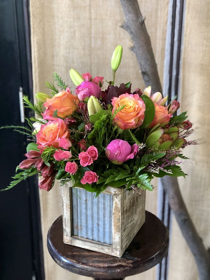 Rustic Summer Flower delivery, Fresh flower delivery