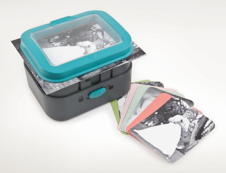 """We R Memory Keepers 3x4"""" Card Punch  $29.99 available July 2013."""