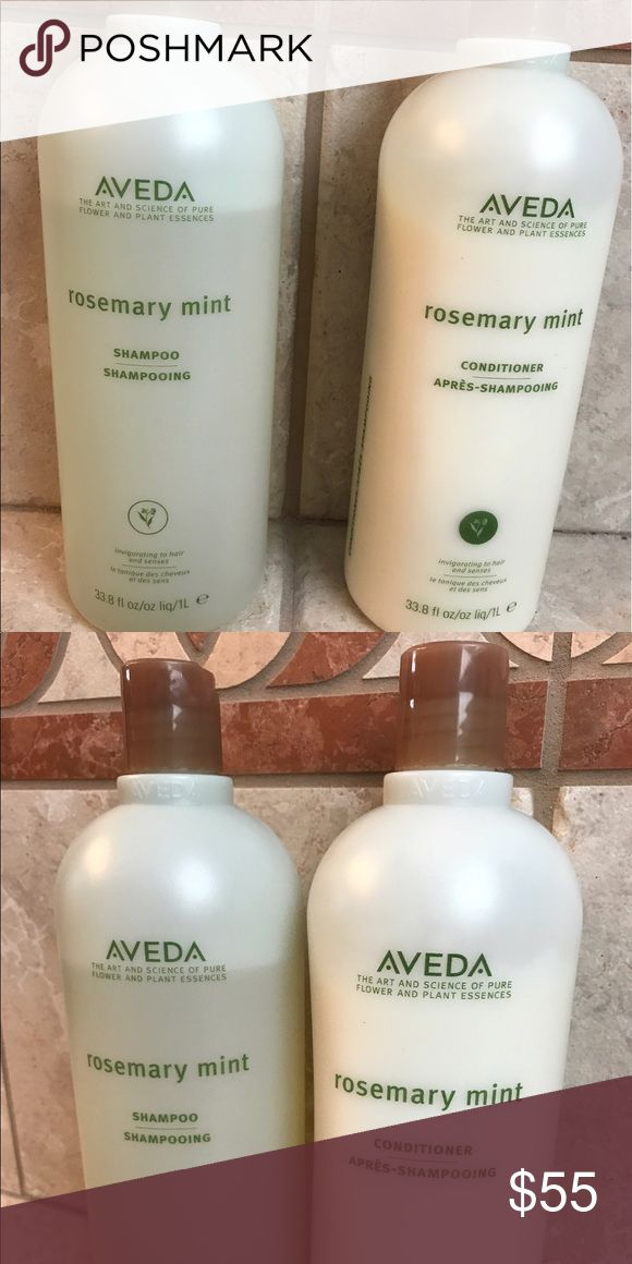 Aveda Shampoo & Conditioner Aveda Rosemary Mint Shampoo & Conditioner Aveda Other