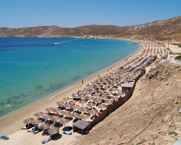 Elia beach in .. L O V E
