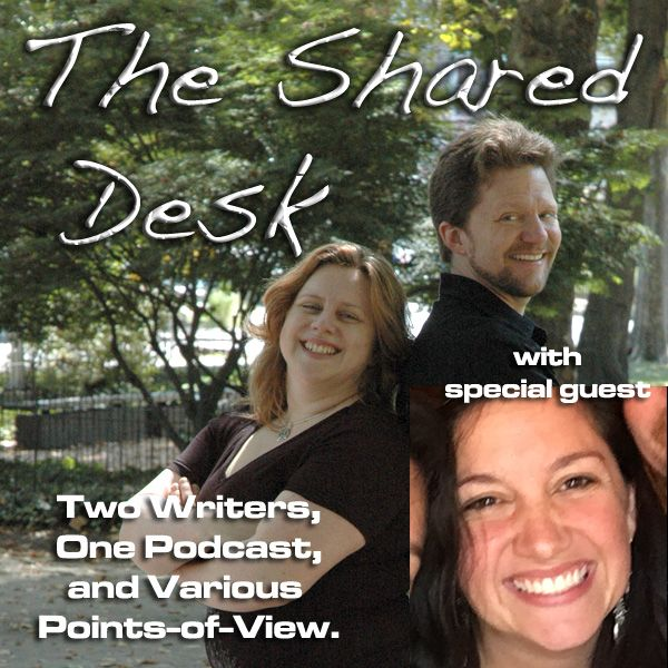 """Episode #76: Wonder Woman from a Writerly Perspective (with Mary Katherine """"M.K."""" Backstrom) 