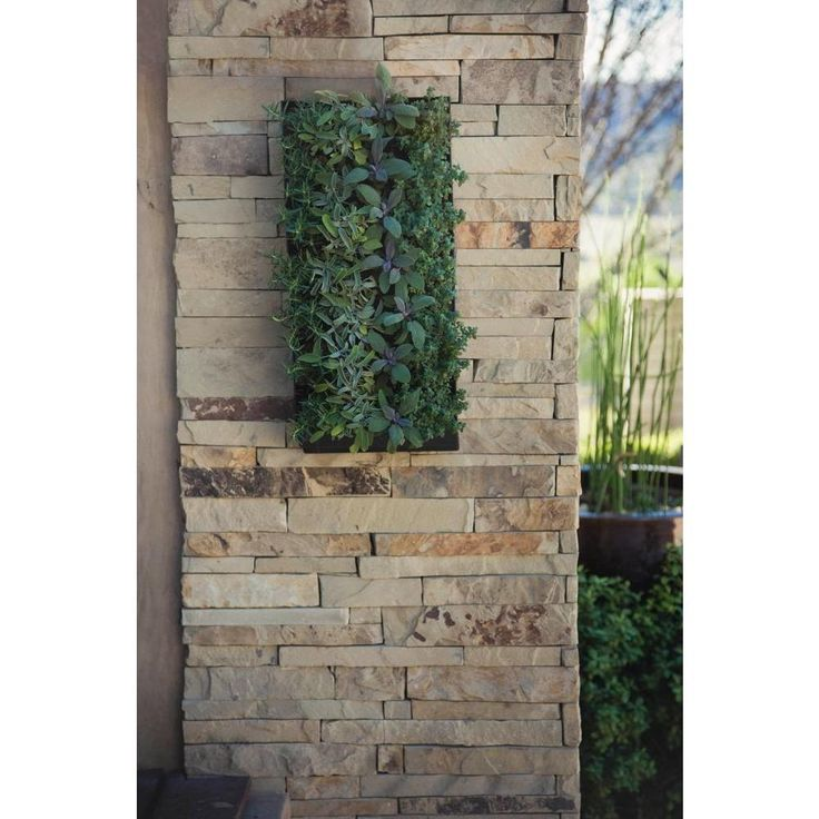 7 best go green walls images on pinterest green walls for Living wall planter