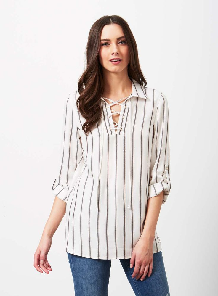 Perfect shirt for denim styling just add a denim jacket for a double denim look