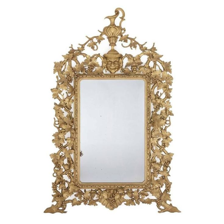 Large and Impressive Antique Italian Carved Giltwood Mirror in the Baroque Style | From a unique collection of antique and modern mantel mirrors and fireplace mirrors at https://www.1stdibs.com/furniture/mirrors/mantel-mirrors-fireplace-mirrors/