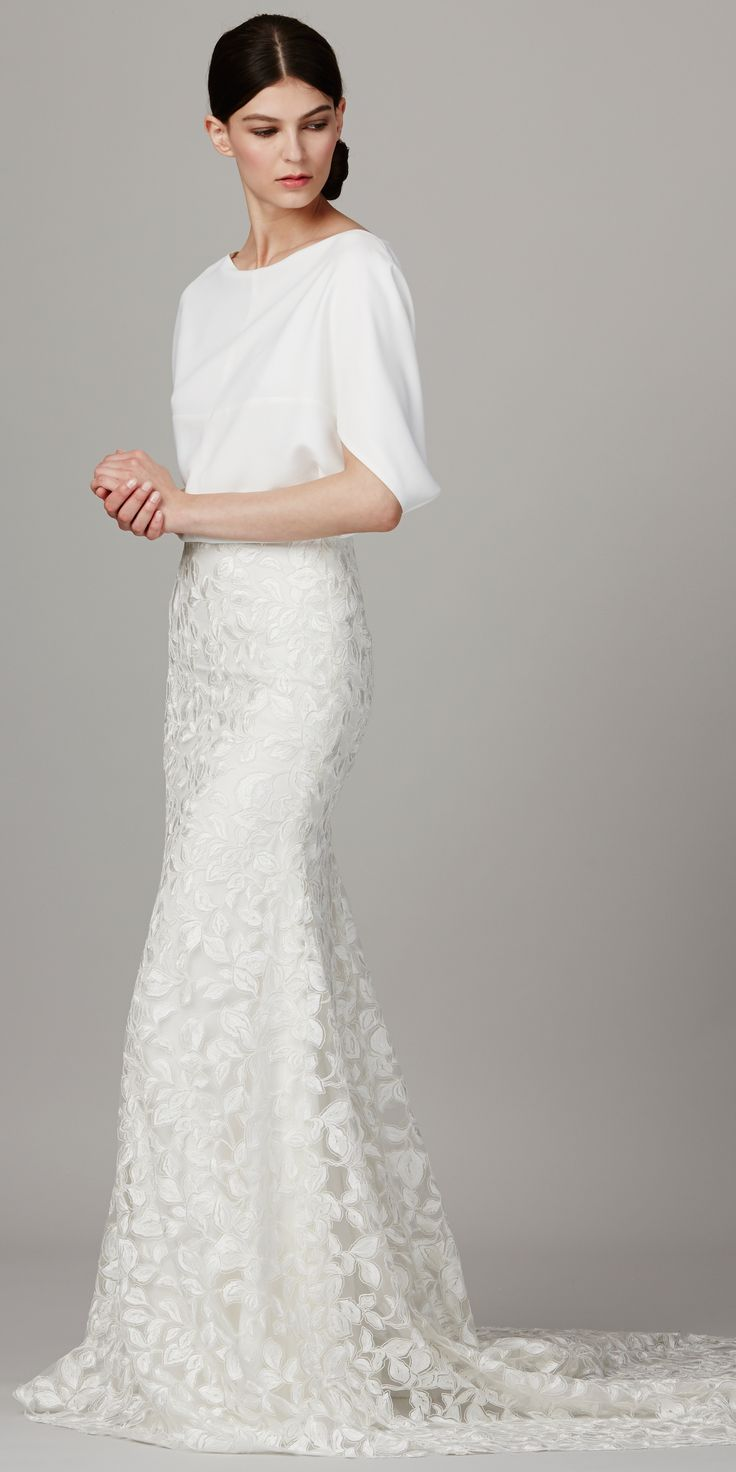 the 25 best ideas about modern wedding dresses on