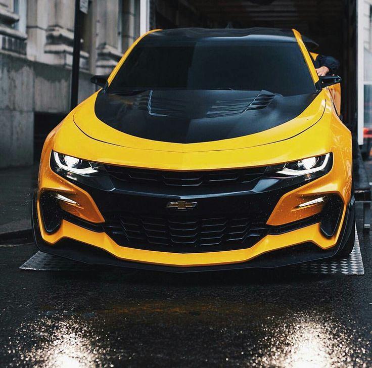 Camaro amarillo y negro