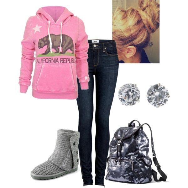 """""""Lazy College day"""" by allykay93 on Polyvore"""
