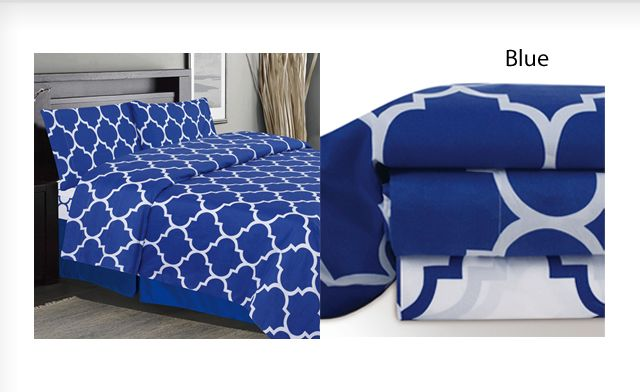 Up to 49% off a Holbrooke 4pc Sheet Set