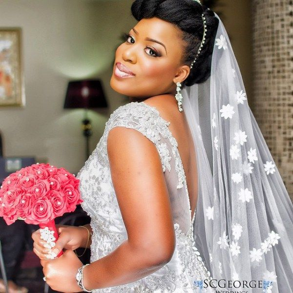 Nigerian Wedding Presents Bukola & Prince Farooq's Glamorous Wedding Photos SC George Photography 12