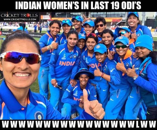 Selfie moment for Indian women's team after the victory against England women's in WWC17  For more cricket fun click: http://ift.tt/2gY9BIZ - http://ift.tt/1ZZ3e4d