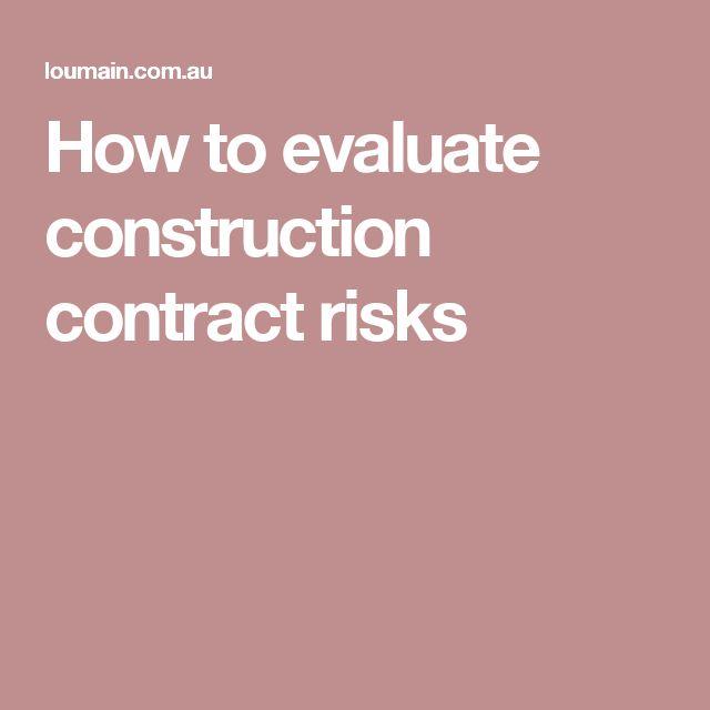 Více než 25 nejlepších nápadů na Pinterestu na téma Construction - construction contract samples