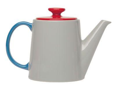 Scopri Teiera My Janse+co -/ Porcelana - 1.14 L, Grigio, Rosso & blu di Serax disponibile su Made In Design Italia il miglior sito online di design.