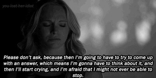 The Vampire Diaries - It's A Day For Caroline Quotes