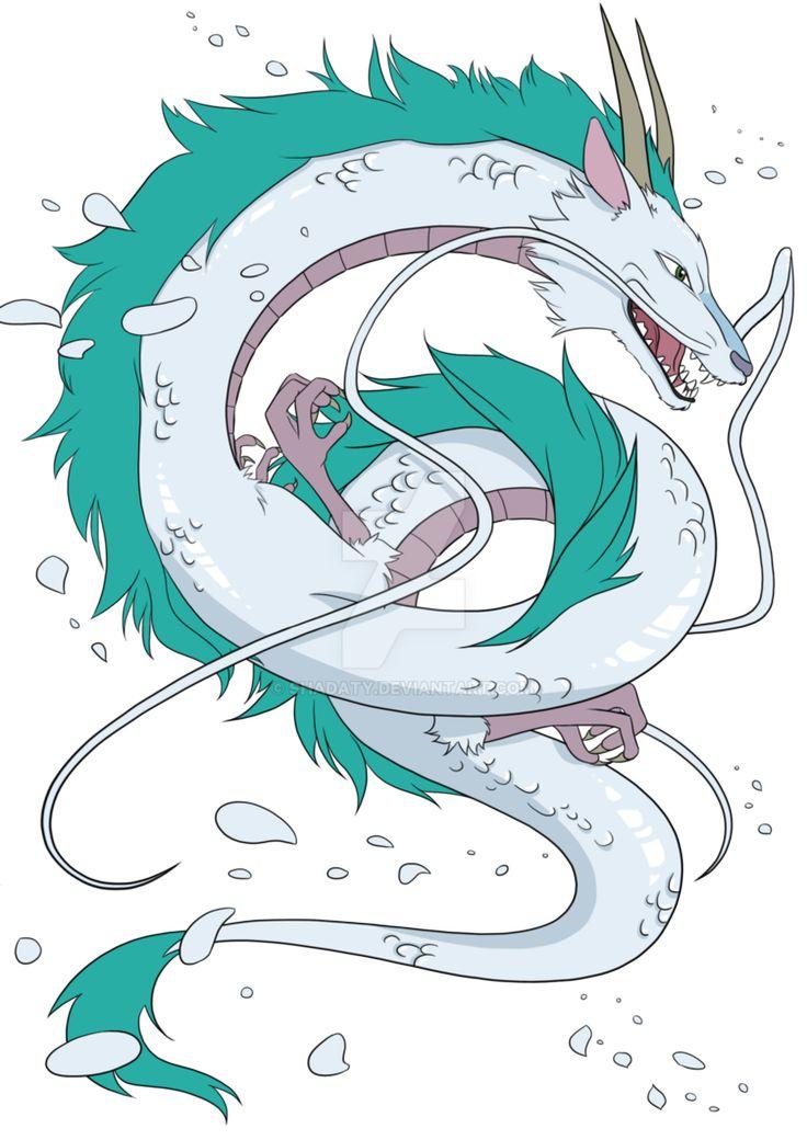 унесенные призраками дракон тату - Поиск в Google