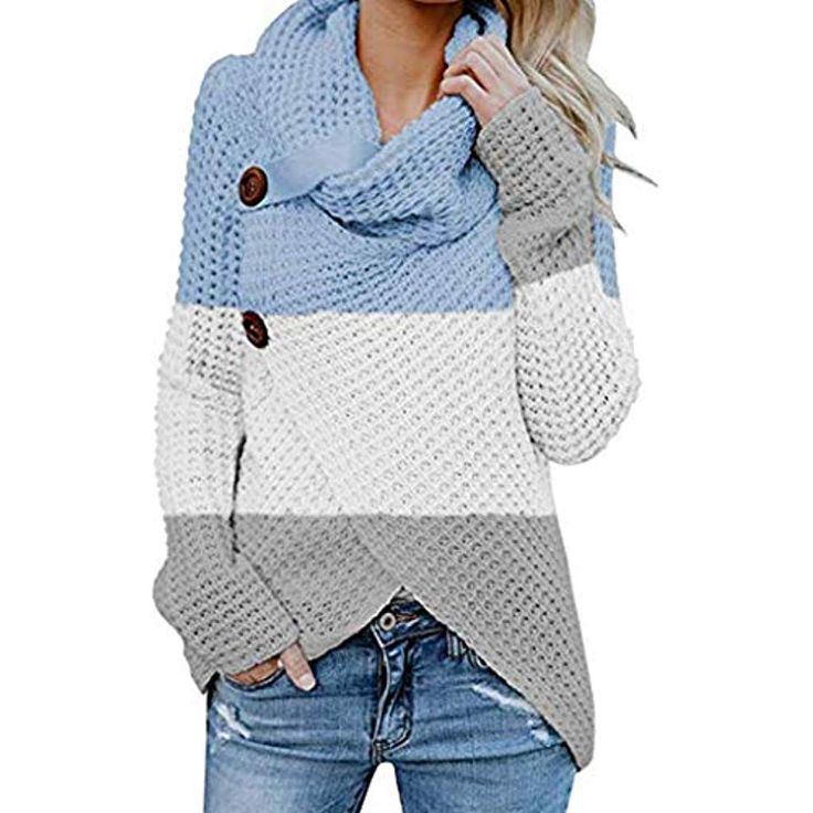 Pageantry Damen Button Pullover Langarm Sweatshirt Pullover