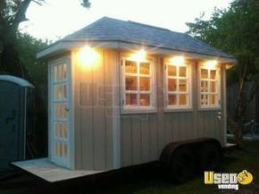For Sale Used Concession Trailer in Texas | Food Trailer -I see a conversion to a tiny house. For $11,000 already completed one could easily remodel the interior.