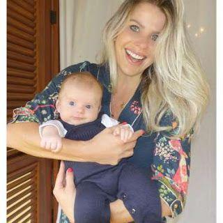 """Mãe de primeira viagem, Karina Bacchi contou que gastou em torno de R$ 83 mil para ter o filho, Enrico,fruto de uma fertilização in vitro, nos Estados Unidos. O pequeno, de 2 meses,nasceu em um hospital em Miami, na Flórida. """"Cerca de R$ 35 mil na parte médica e hospitalar, em que estão inclusos serviços de pediatria, obstetra, hospital e a documentação.   #EUA #fertilização in vitro #Henrico #Karina Bachi"""