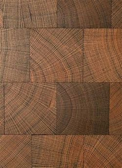 RECLAIMED OAK BLOCK END GRAIN-Flooring