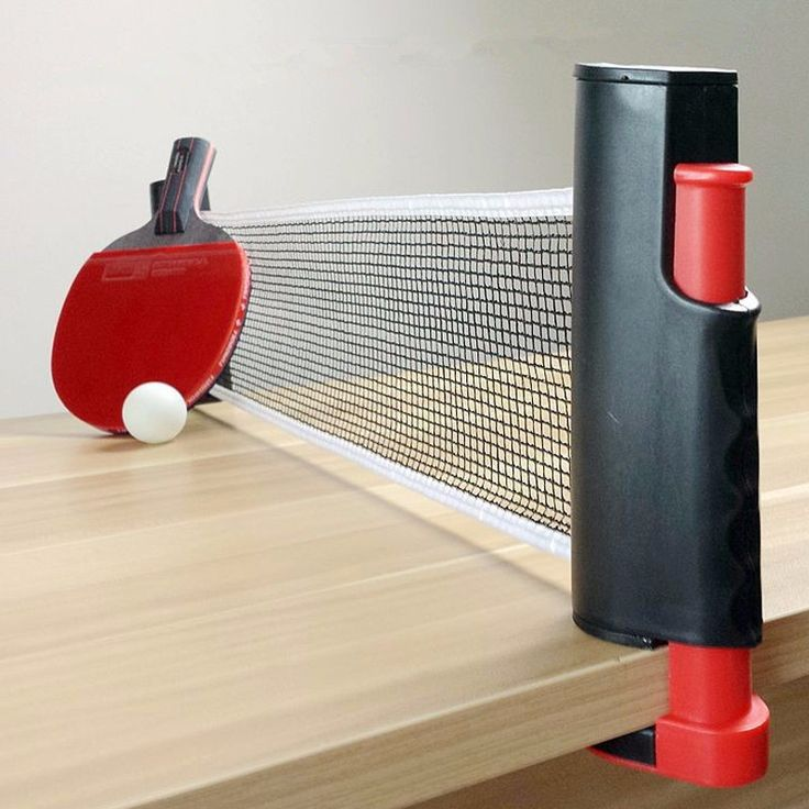 1x Portable Retractable Table Tennis Table Net Rack Replace Kit for Ping Pong Playing ABS plastic +Strong Mesh Net Free shipping