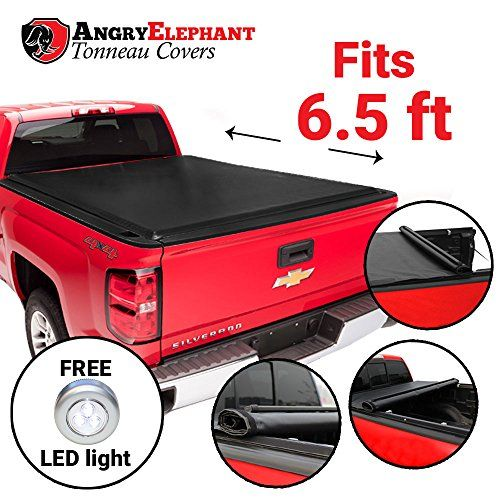 Premium Roll-Up Tonneau Truck Bed Cover - 1988-2007 Chevy Silverado & GMC Sierra 6.5 Ft Bed (78 Inch). For product info go to:  https://www.caraccessoriesonlinemarket.com/premium-roll-up-tonneau-truck-bed-cover-1988-2007-chevy-silverado-gmc-sierra-6-5-ft-bed-78-inch/