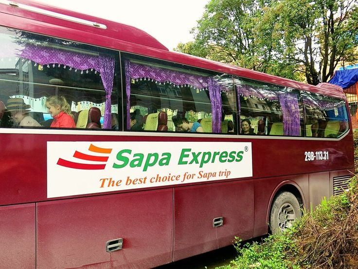 Hanoi to Sapa bus (or vice versa) : The Sapa Express Bus