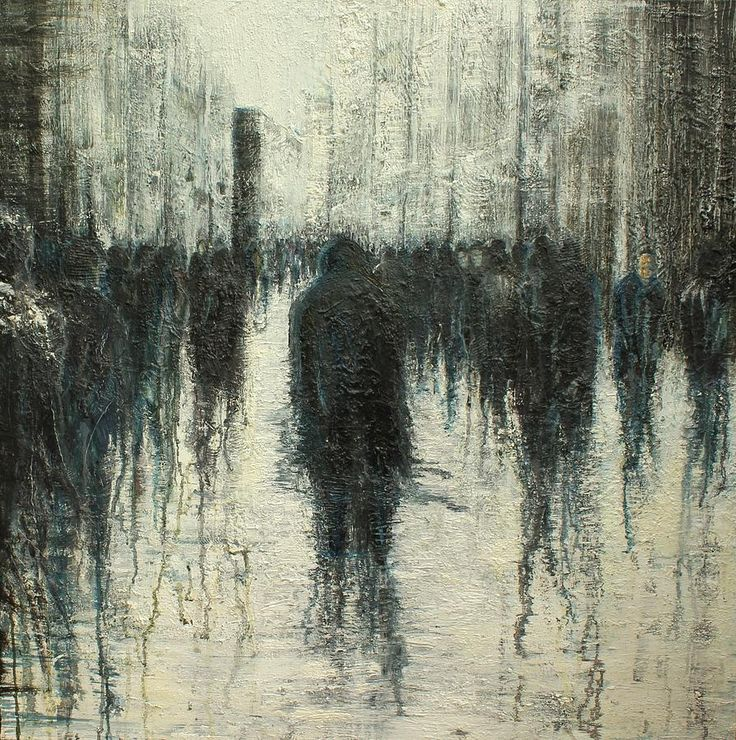 Anonymity in the urban landscape. Lesley Oldaker