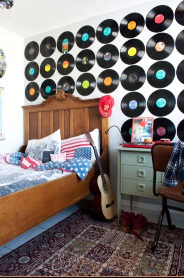 """This quirky boy's bedroom is from our feature """"Pretty Perky"""""""
