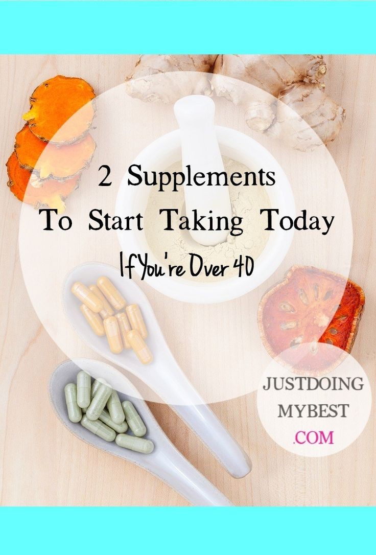 2 great supplements for women over 40