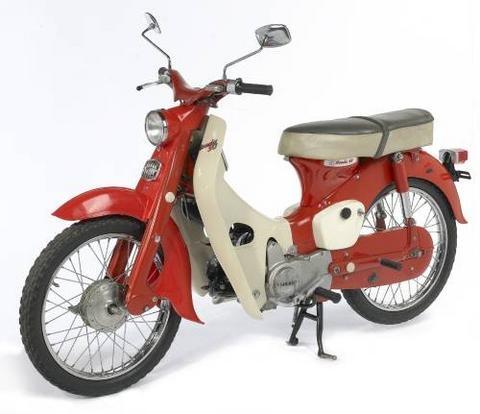 Honda C50 Cub 1965
