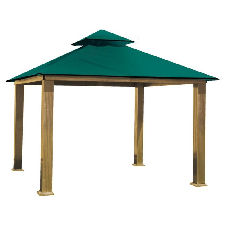 ACACIA by Riverstone Industries STC Seville 12-ft. Gazebo Replacement Canopy Green SunDura - STC12-SD GREEN