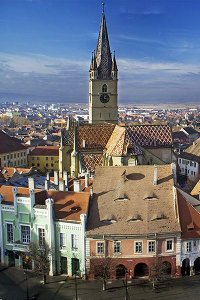 Towering castles, ancient abbeys, and walled villages make history come alive in Romania.