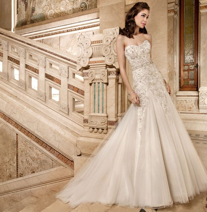 14 best Demetrios Wedding Dresses images on Pinterest | Short ...