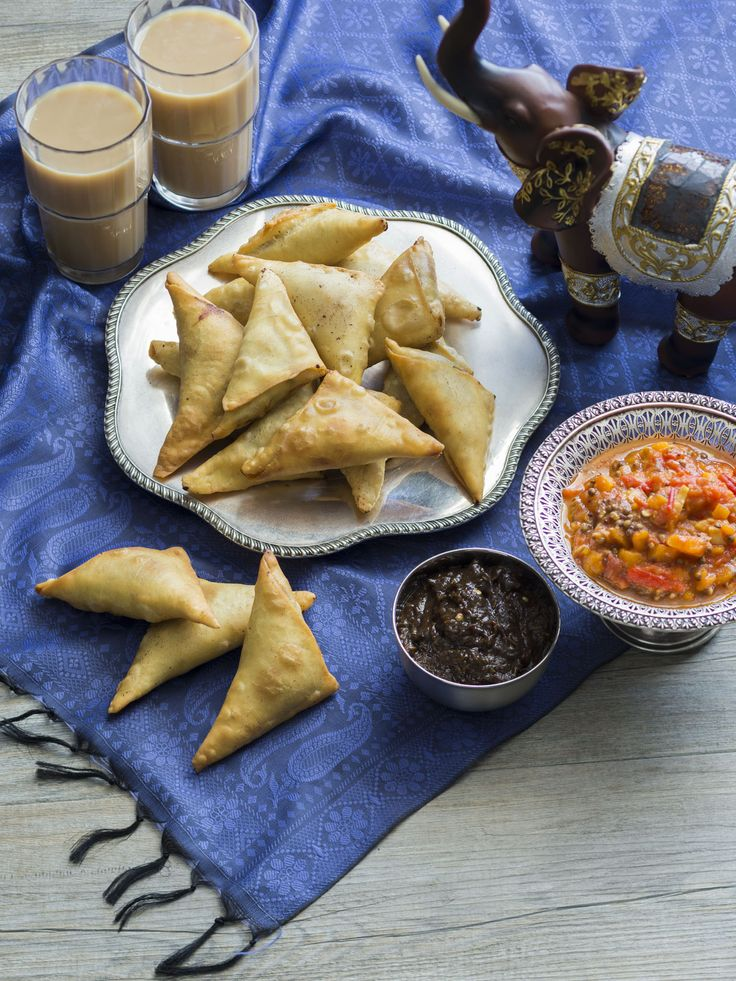 Thermomix | Samosas | Flavours of India | Cookbook & recipe chip |