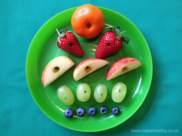 Kids Book Themed Food - Very HUngry Caterpillar Book Themed Healthy Snack Idea for World Book Day from Eats Amazing UK