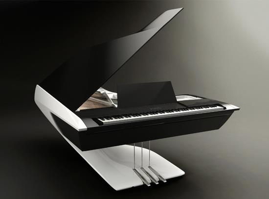 Peugeot Design Lab along Pleyel have created a unique piano